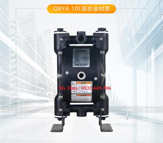 bơm màng QYB4-10 nhôm, bơm màng QYB4-10, máy bơm màng QYB4-10 nhôm, bơm màng thân nhôm, QBY4-10, QBY4,