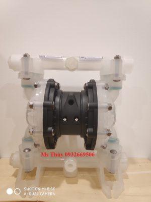bơm màng QBY3-25S nhựa, bơm màng thân nhựa, bơm màng nhựa, bơm màng QBY3-25S, QBY3-25S, QBY3