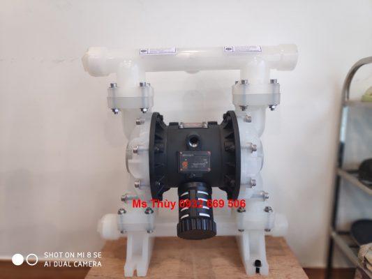 bơm màng QBY3-65S nhựa, bơm màng nhựa, bơm màng thân nhựa, QBY3-65S, QBY3, bơm màng QBY3-65S