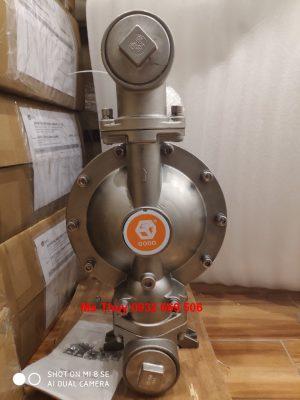 Bơm màng Godo QBY3-50P Inox