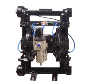máy bơm bộtQBF3-40 thân gang, máy bơm bột, bơm màng thân gang, bơm bột, QBF3-40
