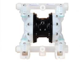 bơm màng QBY3-20S nhựa, bơm màng thân nhựa, QBY3-20S, QBY3, máy bơm màng thân nhựa,