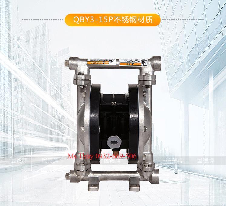 Bơm màng Godo QBY4-15P INOX