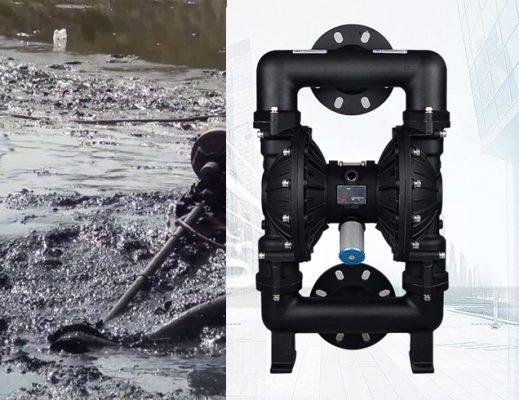 máy bơm bùn đặc, máy bơm hút bùn, bơm bùm bằng khí nén, máy bơm bùn, bơm bùn,