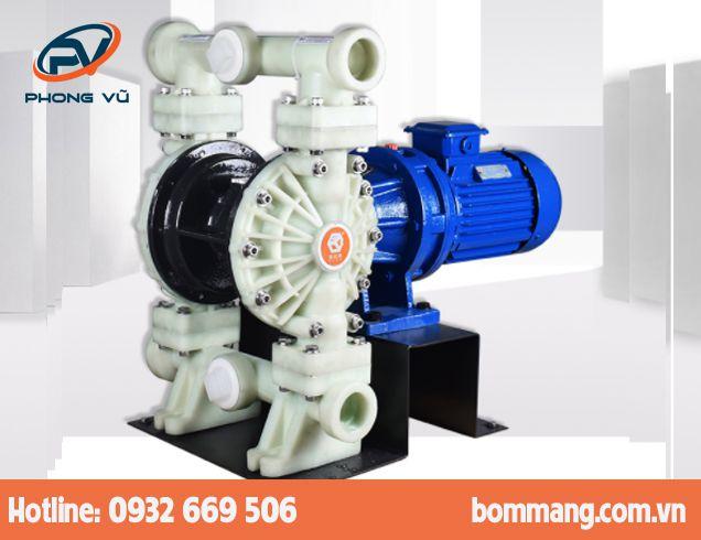 Máy bơm màng điện GODO DBY3-50 Nhựa PP