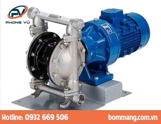 Máy bơm màng điện GODO DBY3S-15 Inox