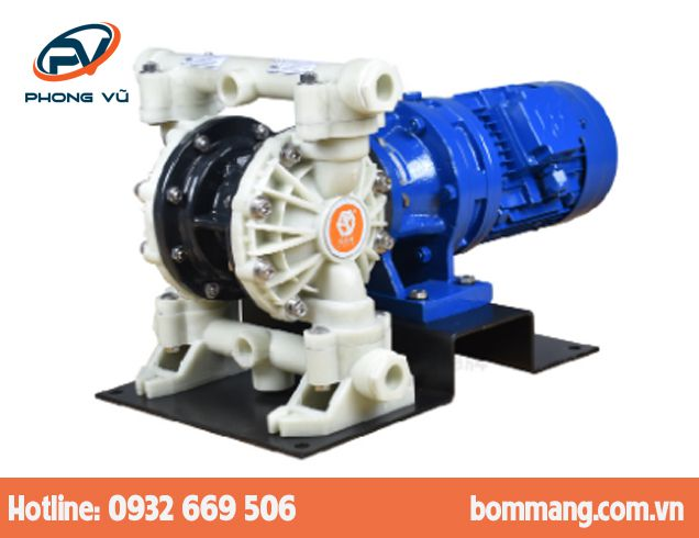 Máy bơm màng điện GODO DBY3S-10 Nhựa PP