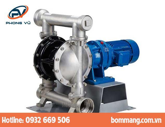 Máy bơm màng điện GODO DBY3S-100 Inox