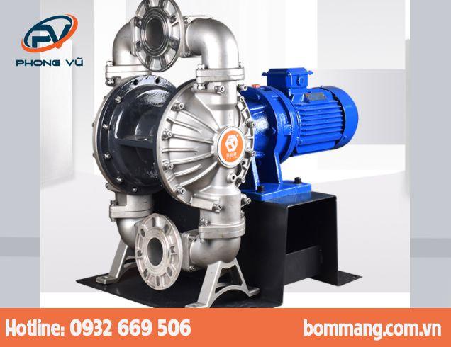 Máy bơm màng điện GODO DBY3-100 Inox