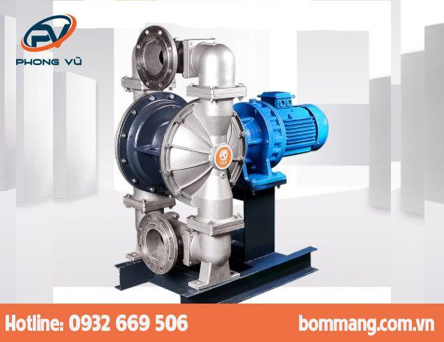 Máy bơm màng điện GODO DBY3S-125 Inox