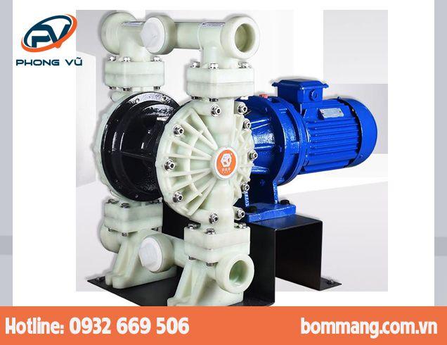 Máy bơm màng điện GODO DBY3S-65 Nhựa PP