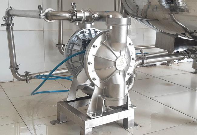 Cấu tạo máy bơm màng khí nén giá rẻ